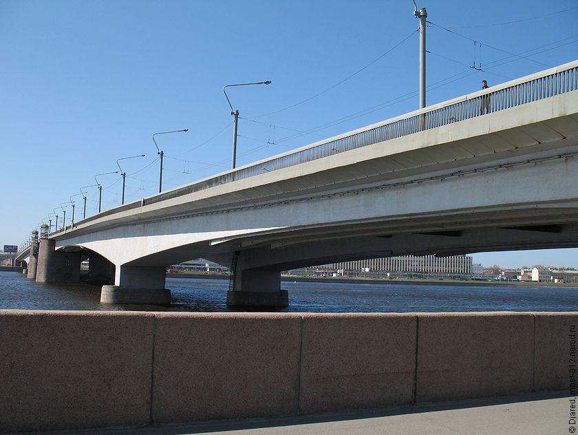 мост Александра Невского,