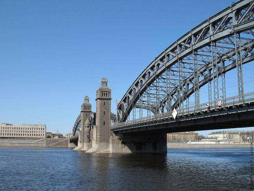 Большеохтинский мост  Википедия