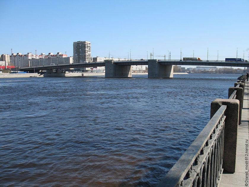 Мост разводной мост на неве